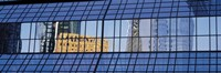 """Building reflections, Frankfurt, Germany by Panoramic Images - 36"""" x 12"""""""