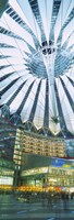 """Low angle view of the ceiling of a building, Sony Center, Potsdamer Platz, Berlin, Germany by Panoramic Images - 12"""" x 36"""" - $34.99"""