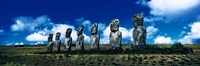 """Easter Island Chile by Panoramic Images - 36"""" x 12"""""""