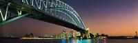"Skyline Harbour Bridge Sydney Australia by Panoramic Images - 36"" x 12"""