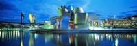 """Guggenheim Museum, Bilbao, Spain by Panoramic Images - 36"""" x 12"""""""