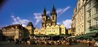 """Prague Czech Republic by Panoramic Images - 36"""" x 12"""" - $34.99"""