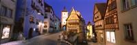 Germany, Rothenburg ob der Tauber Fine Art Print