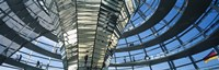 """Glass Dome, Reichstag, Berlin, Germany by Panoramic Images - 36"""" x 12"""""""