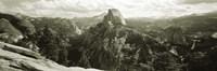"USA, California, Yosemite National Park, Half Dome by Panoramic Images - 36"" x 12"""