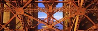 "Golden Gate Bridge Framework (close-up) by Panoramic Images - 36"" x 12"""