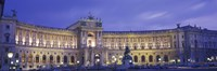"""Hofburg Imperial Palace, Heldenplatz, Vienna, Austria by Panoramic Images - 36"""" x 12"""""""