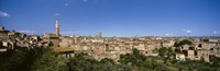 """Buildings in a city, Torre Del Mangia, Siena, Tuscany, Italy by Panoramic Images - 36"""" x 12"""""""