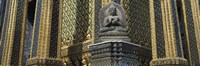 "Emerald Buddha, Wat Phra Keo, Bangkok, Thailand by Panoramic Images - 36"" x 12"", FulcrumGallery.com brand"