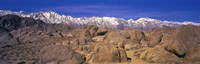 """Sierra Mountains, Owens Valley, California, USA by Panoramic Images - 36"""" x 12"""""""
