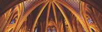 "Interior, Sainte Chapelle, Paris, France by Panoramic Images - 36"" x 12"""