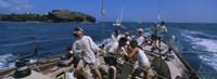 "Sailboat, Grenada by Panoramic Images - 36"" x 12"""