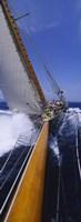 Yacht Mast Caribbean Fine Art Print