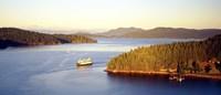 """San Juan Islands Washington USA by Panoramic Images - 36"""" x 12"""""""