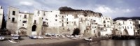 """Old Town, Cefalu, Sicily, Italy by Panoramic Images - 36"""" x 12"""", FulcrumGallery.com brand"""