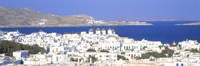 Aerial View of Mykonos, Greece Fine Art Print