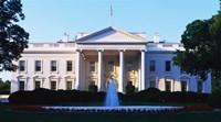 White House Washington DC Framed Print