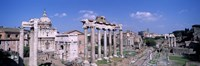 """Roman Forum, Rome, Italy by Panoramic Images - 36"""" x 12"""""""