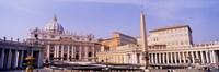 Vatican, St Peters Square, Rome, Italy Fine Art Print