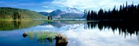 """Cascade Mountains, Oregon, USA by Panoramic Images - 36"""" x 12"""""""
