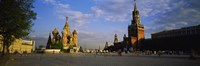 """St. Basil's Cathedral, Red Square, Moscow, Russia by Panoramic Images - 36"""" x 12"""", FulcrumGallery.com brand"""