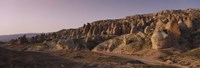"""Rock formations on a landscape, Cappadocia, Turkey by Panoramic Images - 36"""" x 12"""" - $34.99"""