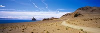 "Dirt road on a landscape, Pyramid Lake, Nevada, USA by Panoramic Images - 36"" x 12"" - $34.99"