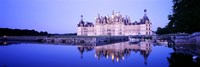 Chateau Royal De Chambord, Loire Valley, France Fine Art Print