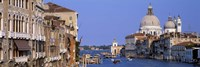 """Buildings Along the Grand Canal, Venice Italy by Panoramic Images - 36"""" x 12"""""""
