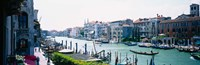 """Boats and Gondolas, Grand Canal, Venice, Italy by Panoramic Images - 36"""" x 12"""""""