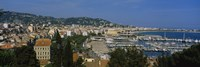 Aerial View Of Boats Docked At A Harbor, Nice, France by Panoramic Images - various sizes