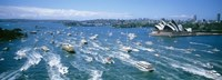"Pleasure Boats, Sydney Harbor, Australia by Panoramic Images - 36"" x 12"""