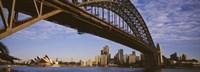"Sydney Harbor Bridge, Sydney, New South Wales, Australia by Panoramic Images - 36"" x 12"""