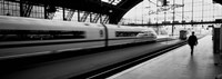 """Train leaving a Station, Cologne, Germany by Panoramic Images - 36"""" x 12"""" - $34.99"""