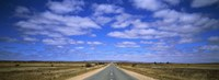 """Outback Highway Australia by Panoramic Images - 36"""" x 12"""", FulcrumGallery.com brand"""