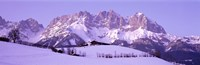 """Wilder Kaiser Austrian Alps by Panoramic Images - 36"""" x 12"""" - $34.99"""