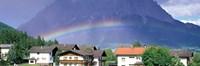 "Rainbow Innsbruck Tirol Austria by Panoramic Images - 36"" x 12"""