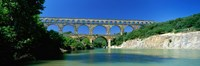 """Pont du Gard, Provence France by Panoramic Images - 36"""" x 12"""""""