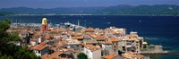 """St Tropez, France by Panoramic Images - 36"""" x 12"""", FulcrumGallery.com brand"""