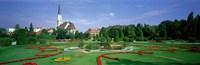 """Garden At Schonbrunn Palace (Schloss Schonbrunn), Vienna, Austria by Panoramic Images - 36"""" x 12"""""""