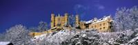 "Hohenschwangau Castle (Schloss Hohenschwangau) Schwangau Germany by Panoramic Images - 36"" x 12"""