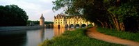 """Chateau De Chenonceaux, Loire Valley, France by Panoramic Images - 36"""" x 12"""""""