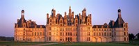 "Chateau de Chambord (Chambord Chateau) Loir-et-Cher Loire Valley France by Panoramic Images - 36"" x 12"""