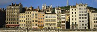 "Buildings In A City, Lyon, France by Panoramic Images - 36"" x 12"""