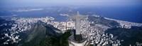 Aerial, Rio De Janeiro, Brazil Fine Art Print