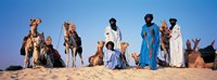 """Tuareg Camel Riders, Mali, Africa by Panoramic Images - 36"""" x 12"""" - $34.99"""