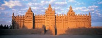 """Great Mosque Of Djenne, Mali, Africa by Panoramic Images - 36"""" x 12"""""""
