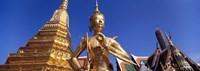 Wat Phra Kaeo, Grand Palace, Bangkok, Thailand Fine Art Print