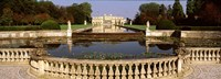 Canal in front of a building, Brenta Canal, Villa Pisani, Venice, Italy Fine Art Print