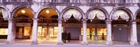 "Facade, Saint Marks Square, Venice, Italy by Panoramic Images - 36"" x 12"""